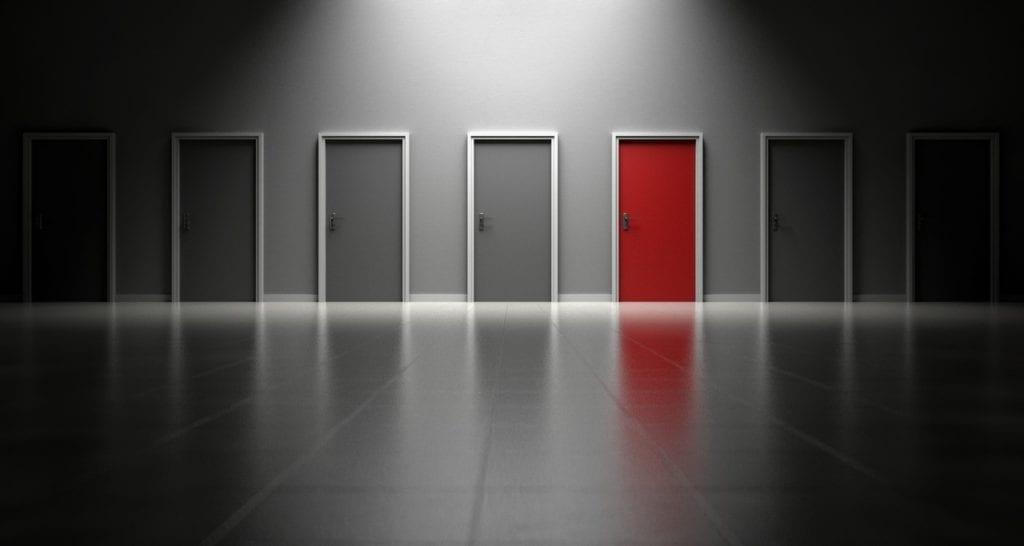 deciding between MBA acceptances and doors